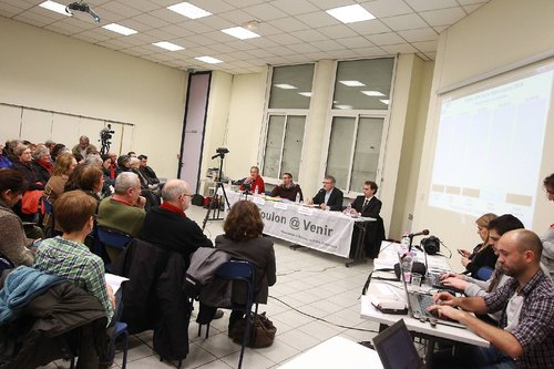 Toulon Municipales : les canditats débattent  à l'invitation de Toulon@Venir