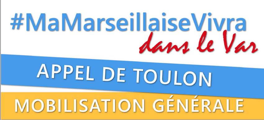 La Marseillaise dans le Var – Appel à mobilisation générale.